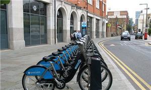 Sistema de aluguel de bikes em Londres