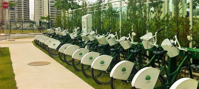 Sistema de bike share em condomínio