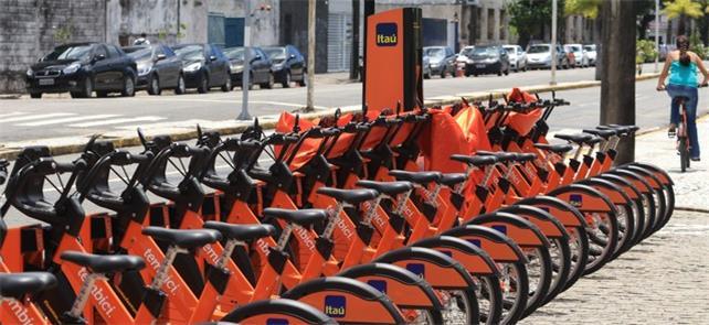 Sistema de bikes compartilhadas é renovado no Reci