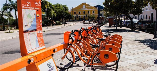 Sistema de bikes compartilhadas: mais de 178 mil u