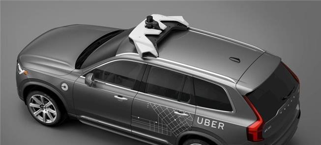 Sistema Lidar de sensor da Uber: capaz de evitar a