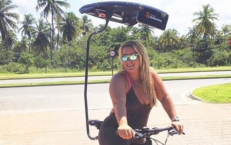 Sombra para quem pedala, com o CicloShadow