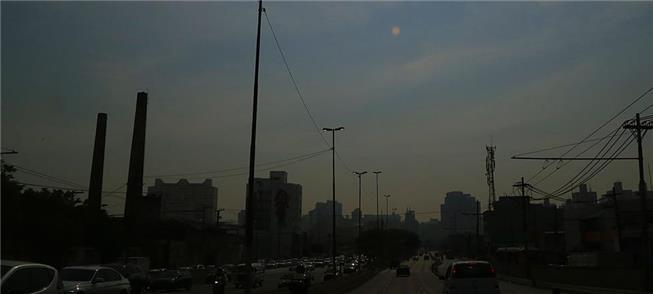 SP poluída: material particulado provém em 90% dos