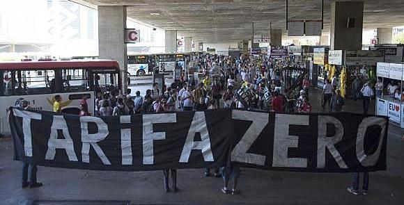 Tarifa Zero: manifestação