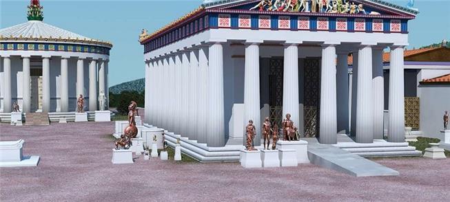 Templos gregos tinham rampas para pessoas com defi