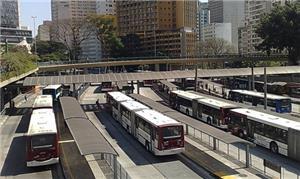 Terminal Bandeira, na região central de São Paulo