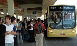 Terminal de ônibus em Vitória