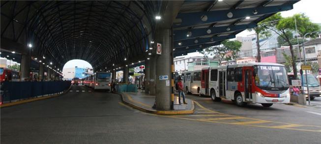 Terminal em Vila Luzita: em breve, 20% menos emiss