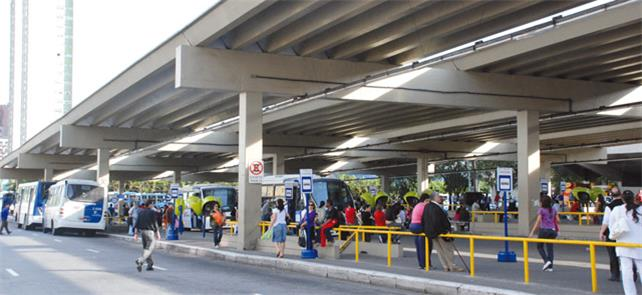Terminal Santana, na zona norte de São Paulo