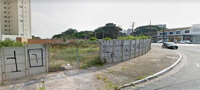 Terreno abandonado da estação Vila Formosa (linha
