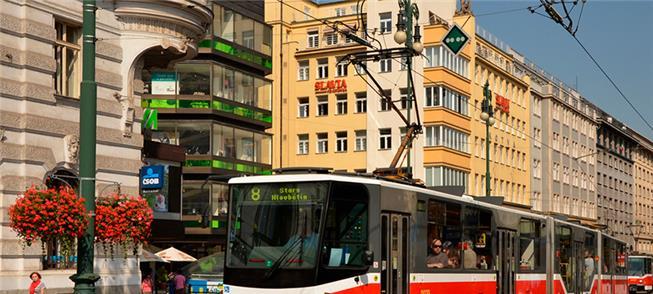 Teste em Praga será feito no VLT modelo Tatra T6A5
