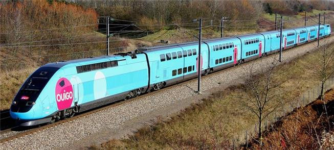 TGV Ouigo, na França
