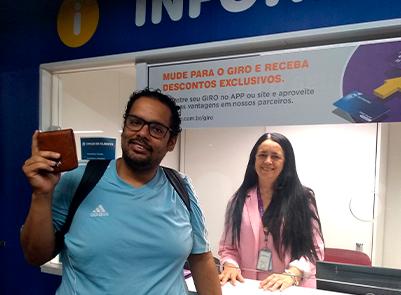 Thiago Simões recuperou a carteira com R$ 500 no M