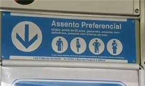 Todos assentos passam a ser preferenciais