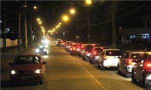 Trânsito na Avenida Santos Dumont, um dos gargalos