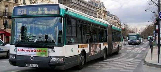 Transporte público em Paris pode receber gratuidad