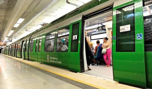 Trem do Metrô de Fortaleza (Linha Sul)