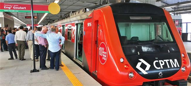 Trem expresso fará 5 viagens/dia entre Guarulhos e