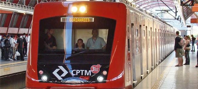 Trem Intercidades em Campinas