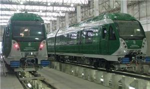 Trens da Linha Sul do metrô de Fortaleza