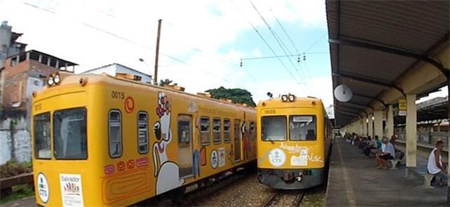 Trens do Subúrbio, em Salvador, param de funcionar