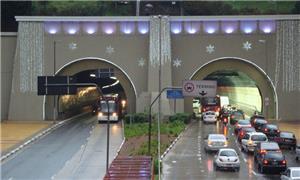 Túnel da 9 de Julho, em São Paulo