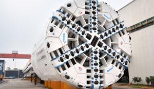Tuneladoras, máquina que irá perfurar os túneis