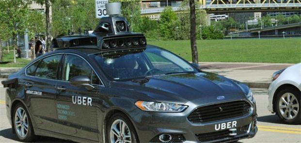 Uber vem testando carros autônomos nos EUA