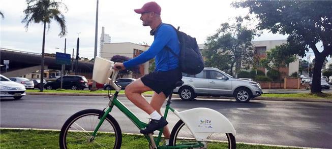 Uberlândia passa a ter sistema gratuito de bikes p