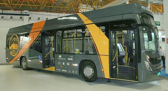 Um novo ônibus elétrico, agora com tecnologia naci