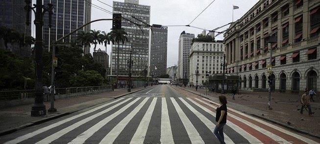 Uma cidade com menos carro é possível