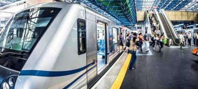Usuários de metrô e trens em SP sobem de 12% para