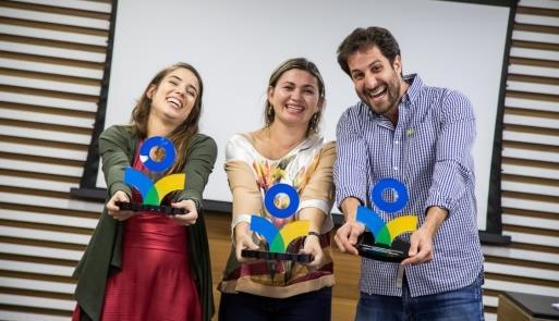 Vencedores da premiação anterior
