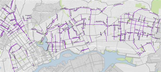 Vias abertas para pedestres e ciclistas: 120 km