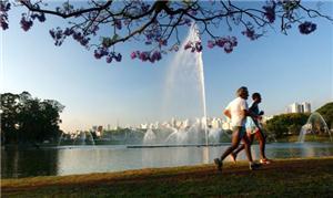 Vida ao ar livre: bom para a saúde