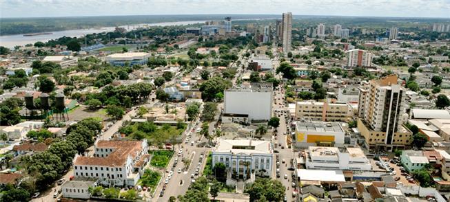 Vista aérea de Porto Velho (RO)