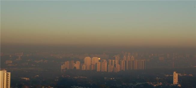 Vista da área norte de São Paulo