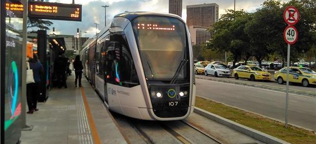 VLT do Rio ganhará novo trecho ainda este ano