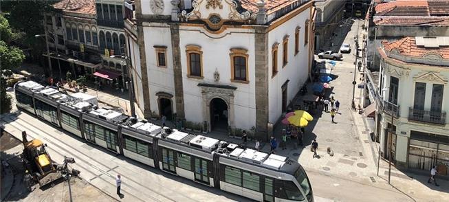 VLT do Rio: novo trecho, da Central do Brasil ao A