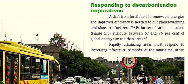 Xian, na China: mudanças para reduzir emissões de